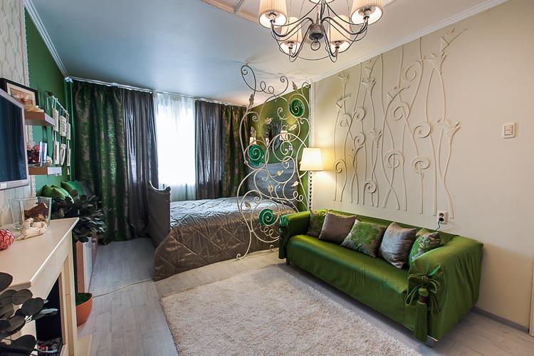 Дизайн стены за диваном фото